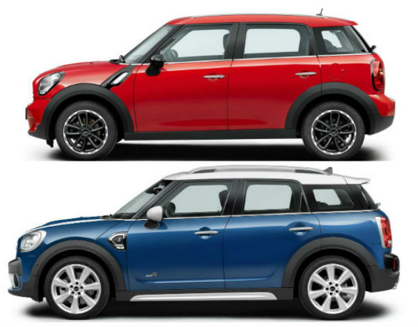 mini-crossover-2nd-gen-1st-gen-comparison-side
