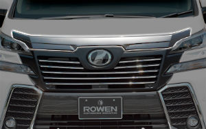 rowen-30-vellfire-front-hood-extention