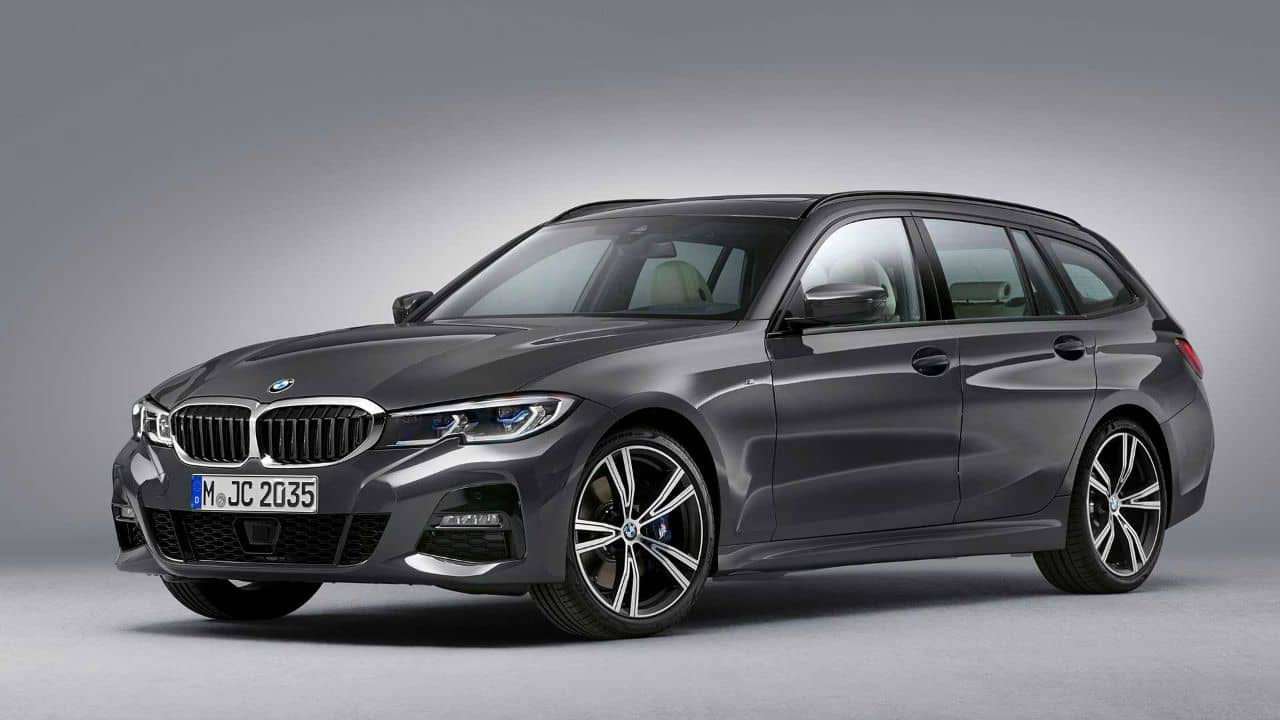 BMW 3 Series Touring front