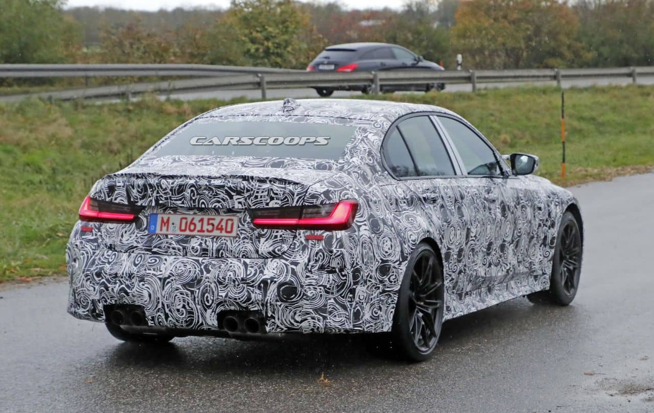 BMW M3(G80)spyshot rear