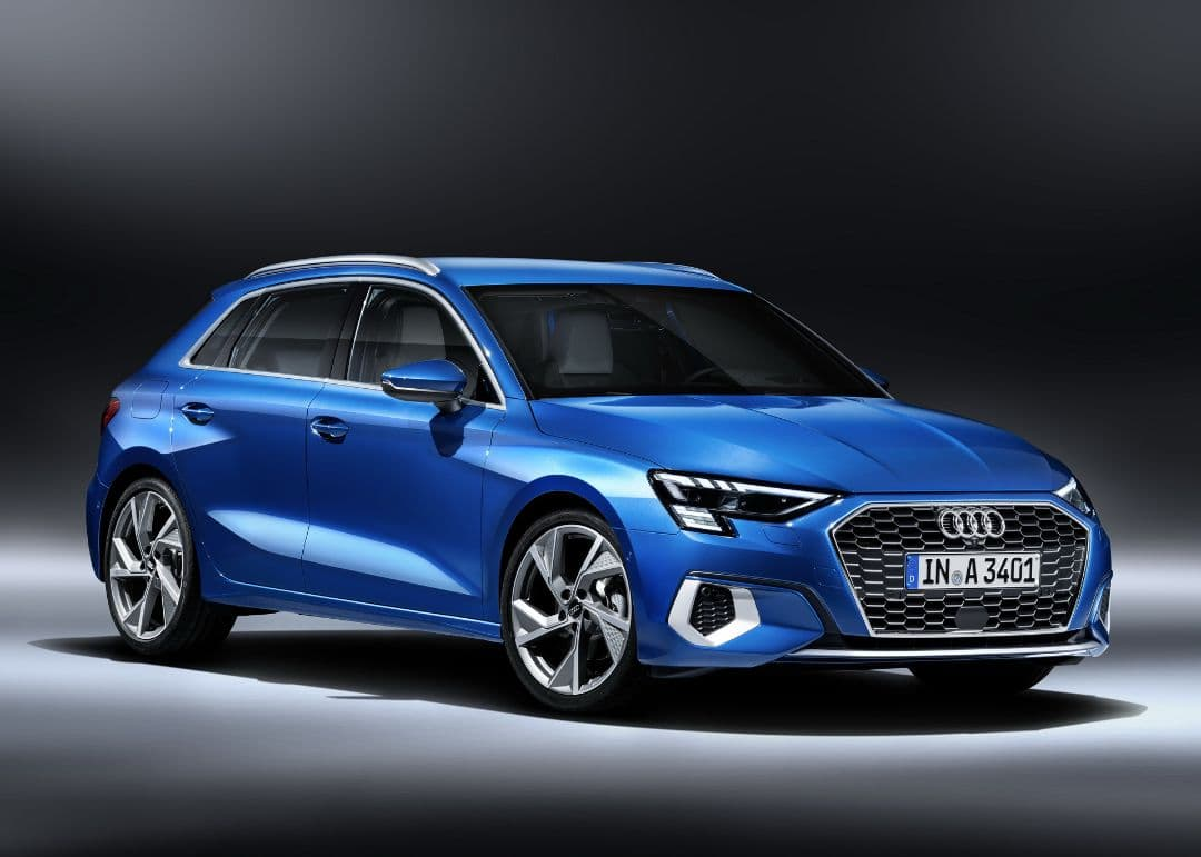 Audi A3 front three quarter