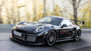 Porsche 911 GT2 RS with Manthey Performance Kit Front three quarter