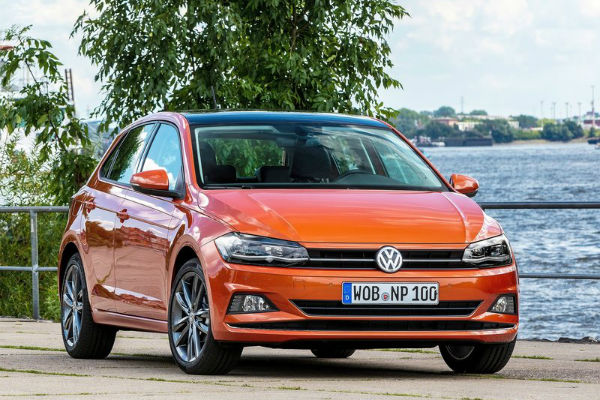 VW Polo 2018 Front