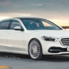 Mercedes-Benz S-Class Rendered by kolesa.ru