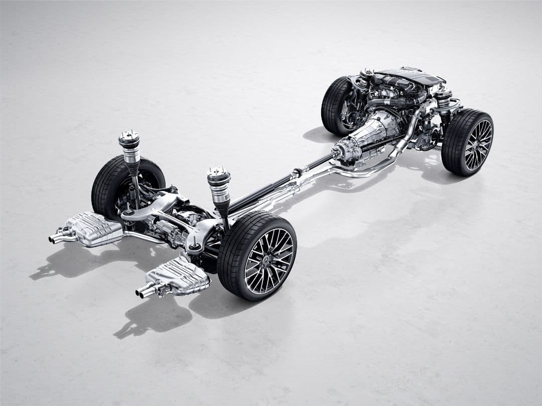 Mercedes Benz S Class 2021 chassis