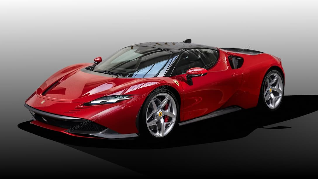 Ferrari F171 rendered by carmagazine