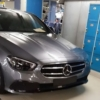 Mercedes Benz E Class Facelift Spyshot Camoless