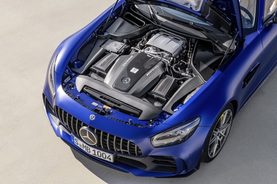 amg gt r roadster engine