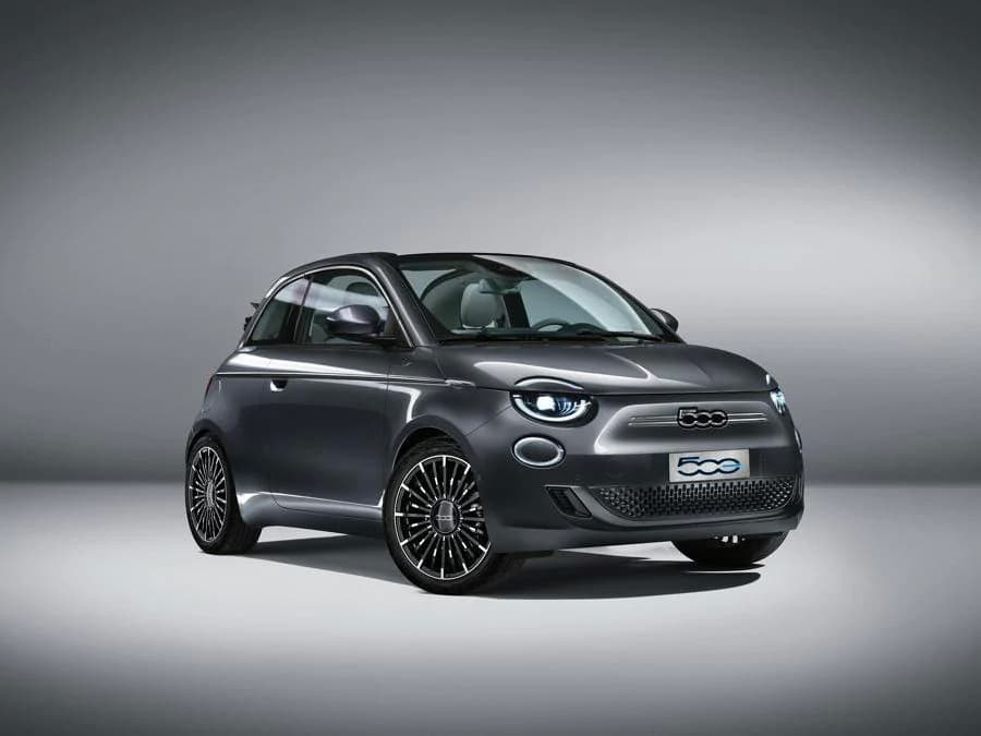 Fiat 500e Official Photo Leaked