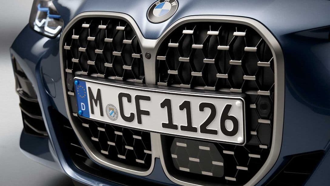 BMW 4 Series Coupe grill