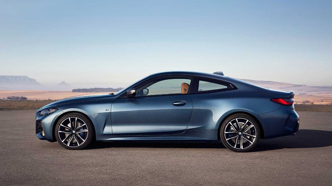 BMW 4 Series Coupe side