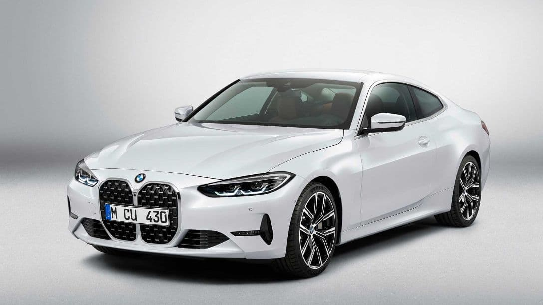 BMW 4 Series Coupe front top