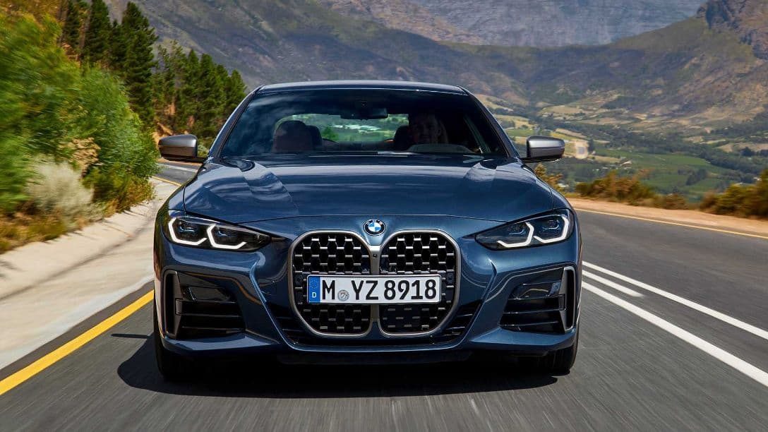 BMW 4 Series Coupe front