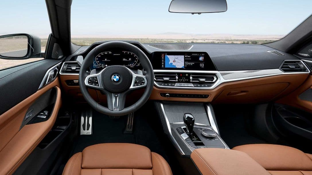 BMW 4 Series Coupe interior