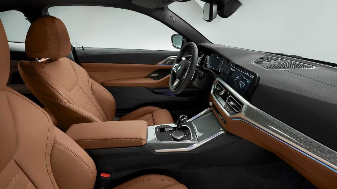 BMW 4 Series Coupe front seat