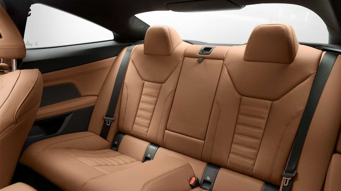 BMW 4 Series Coupe rear seat