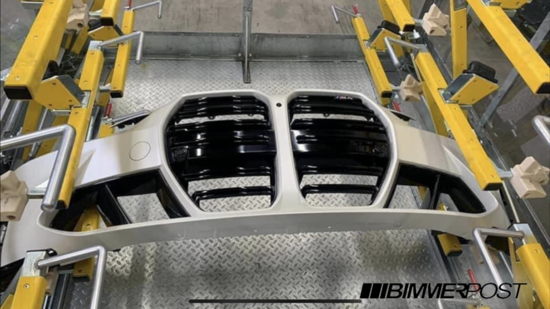 BMW M4 leaked grill