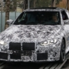 BMW M4 coupe spyshot