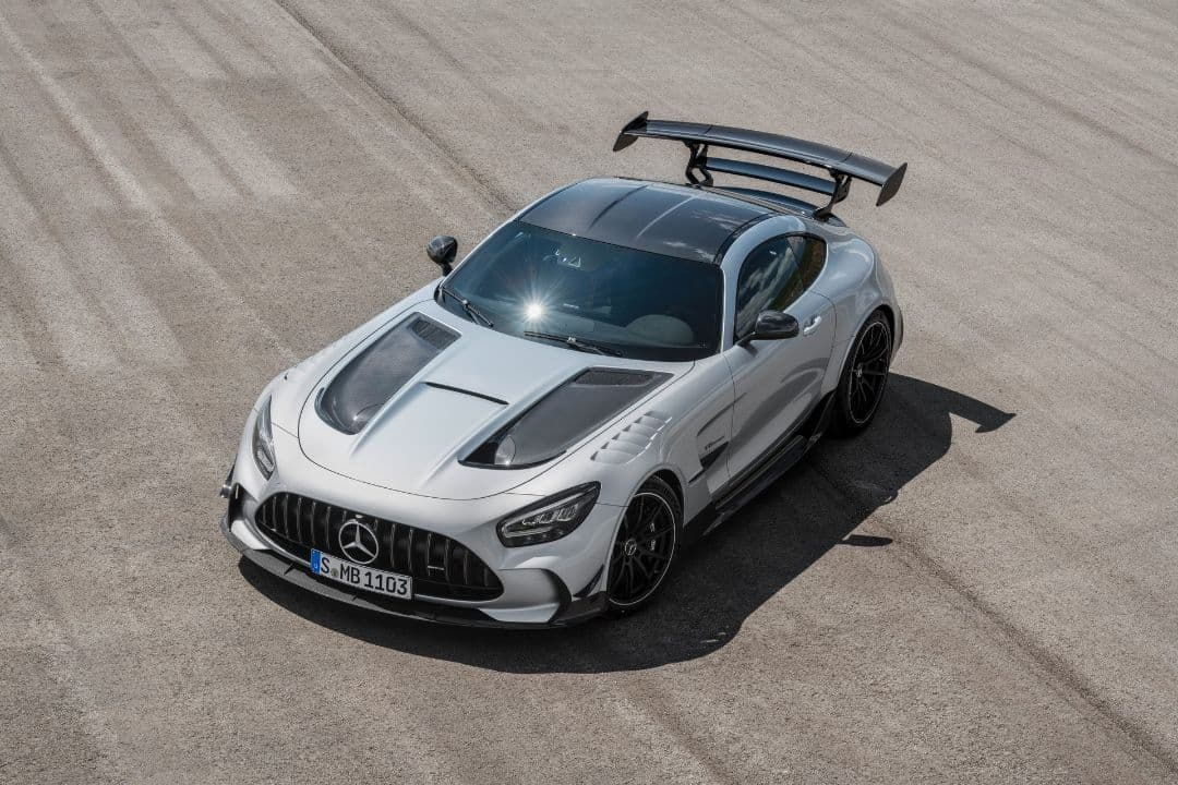 AMG GT Black Series top front