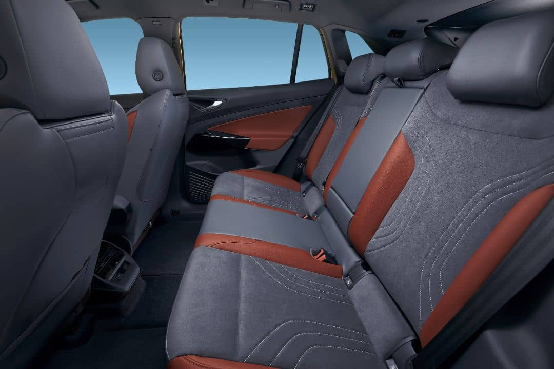VW ID.4 1st Edition Rear seats