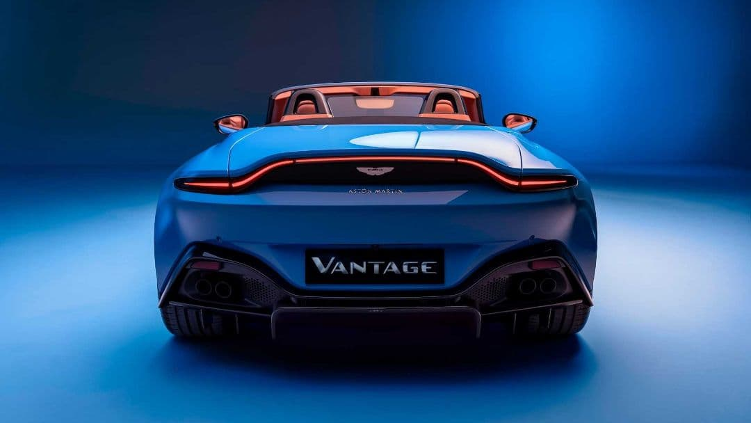 Aston Martin Vantage Roadster rear