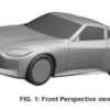 Nissan 400Z Patent Image Front Perspective