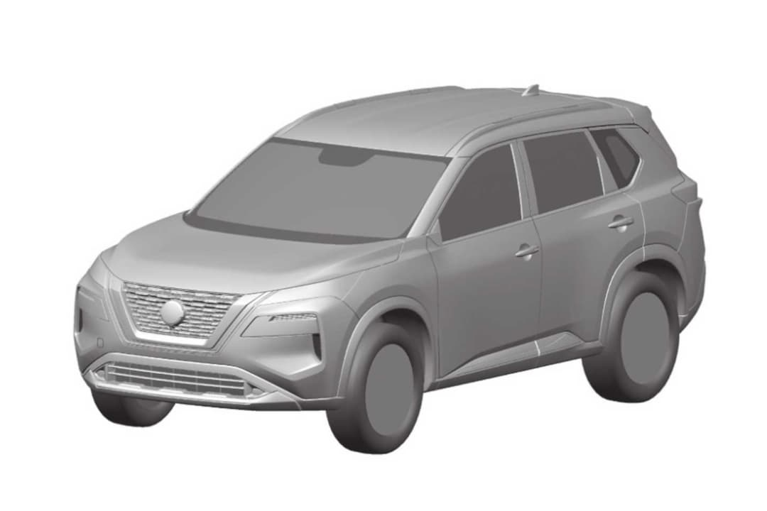 Nissan Rogue 4th Gen Patent Image