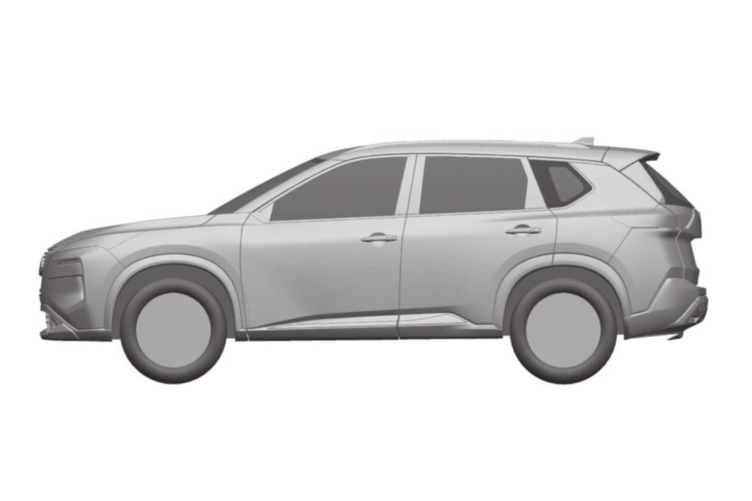 Nissan Rogue 4th Gen Patent Image side