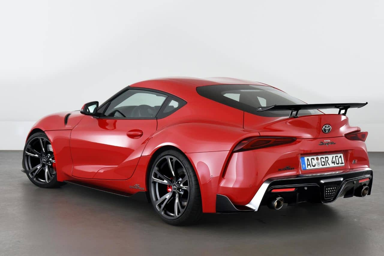 AC Schnitzer GR Supra rear three quarter