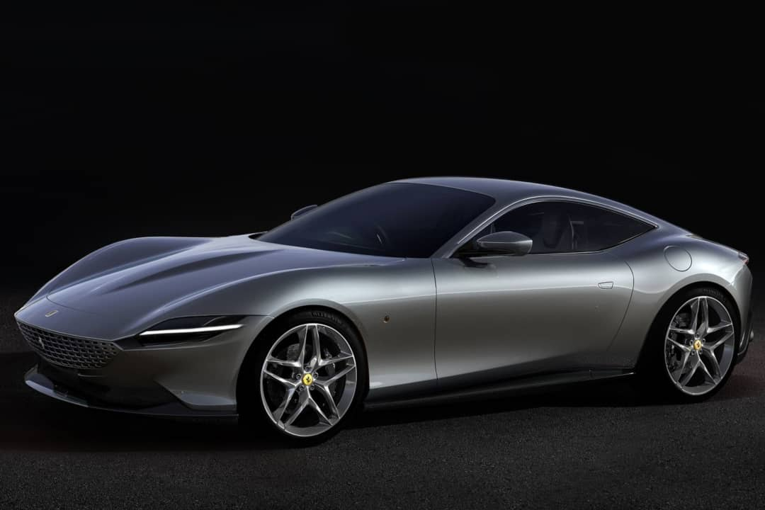 Ferrari Roma 2020 front three quarter