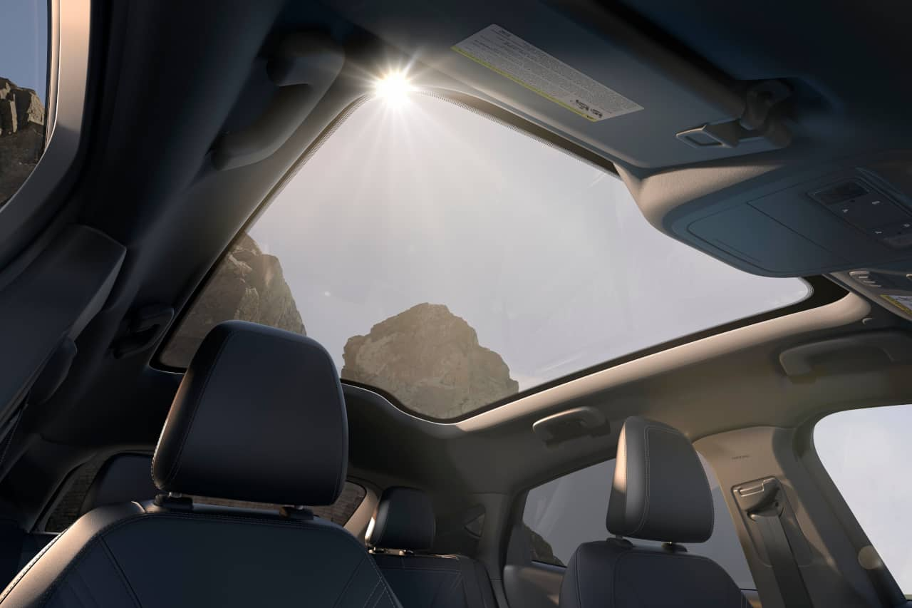 Ford Mustang Mach E panoramic roof