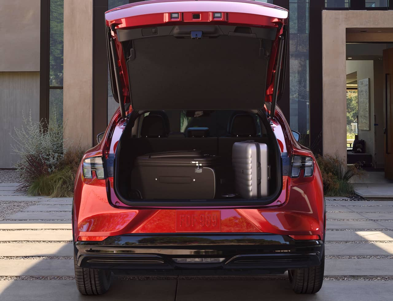 Ford Mustang Mach E luggage