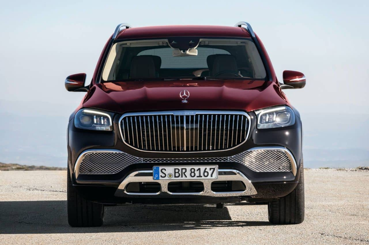 Mercedes Maybach GLS 600 front