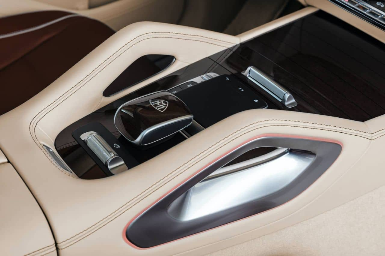 Mercedes Maybach GLS 600 console