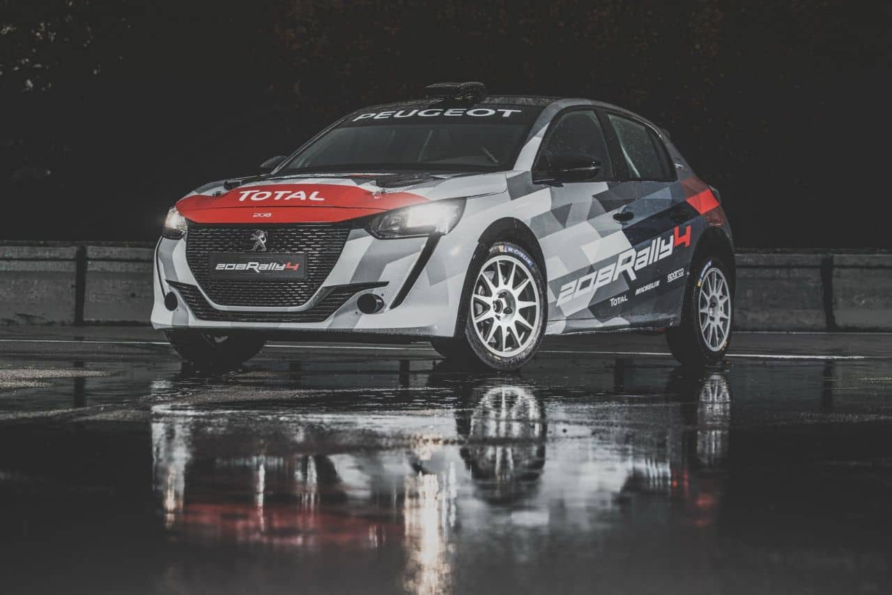 Peugeot 208 Rally 4 front