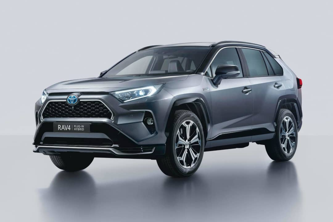 Toyota RAV4 Plugin Hybrid front three quarter