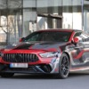 AMG GT 73e 4-door Spyshot Front three quarter