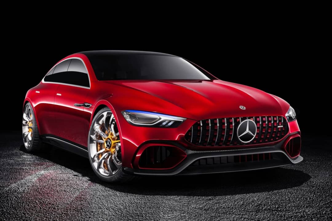 AMG GT Concept 2017 front