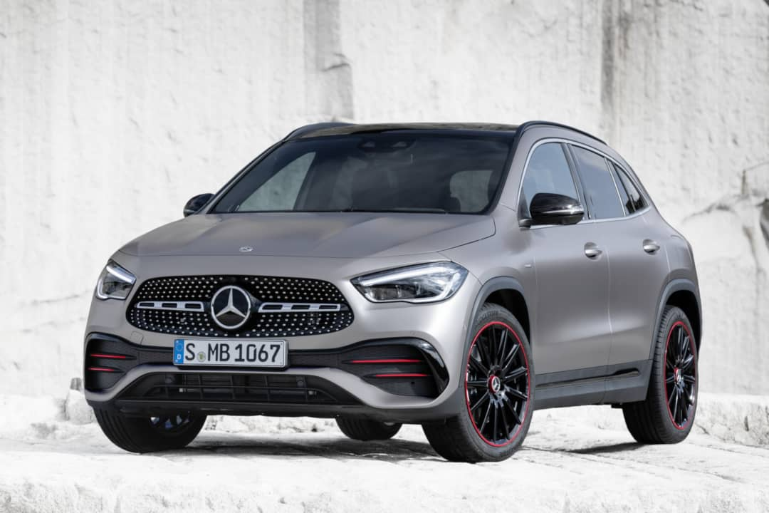 Mercedes Benz GLA 2nd Gen front three quarter