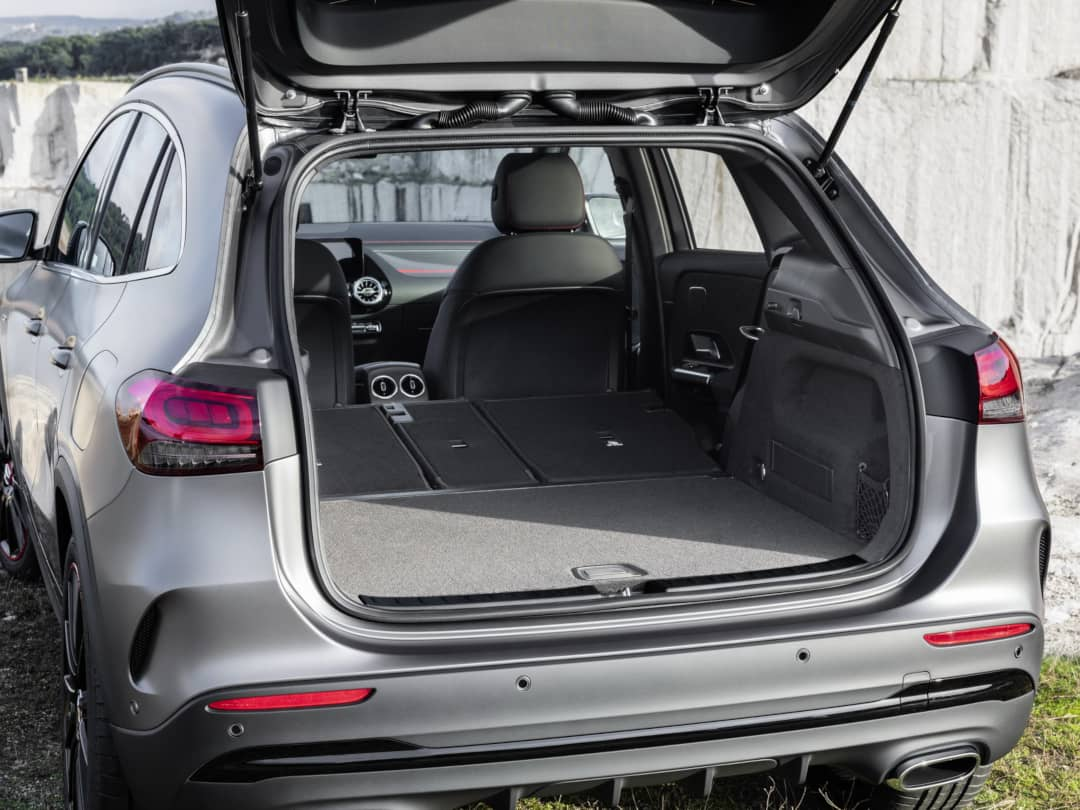 Mercedes Benz GLA 2nd Gen luggage