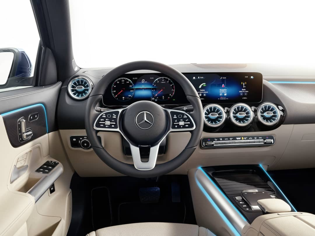 Mercedes Benz GLA 2nd Gen cockpit