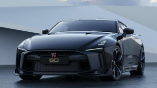 Nissan GT-R50 by Italdesign black front