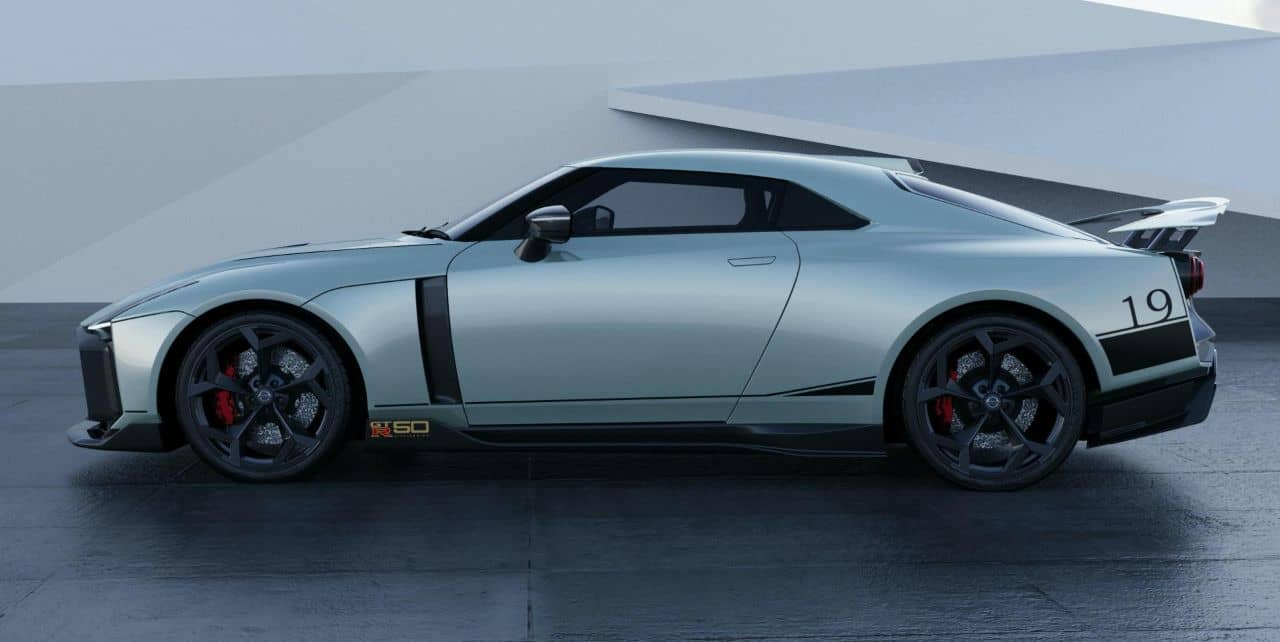 Nissan GT-R50 by Italdesign white side