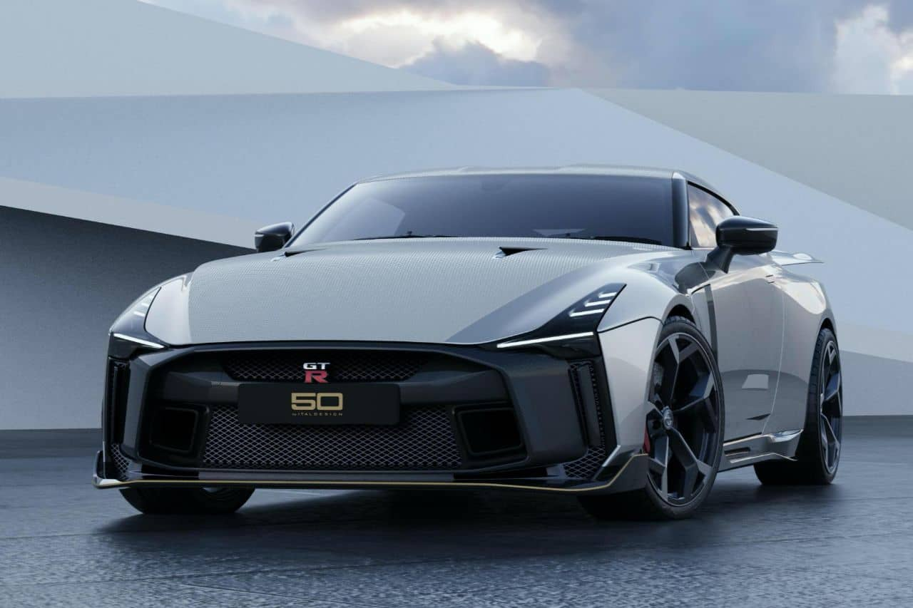 Nissan GT-R50 by Italdesign white front