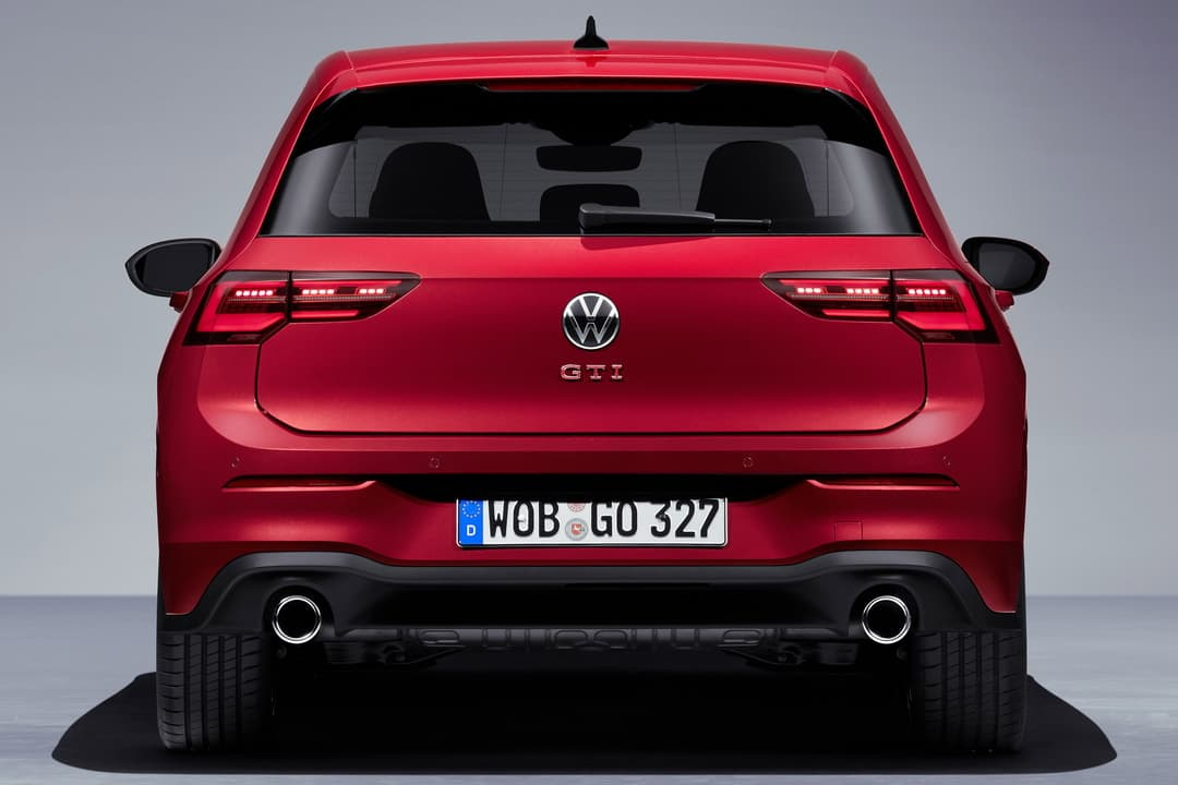 VW Golf Mk8 GTI rear