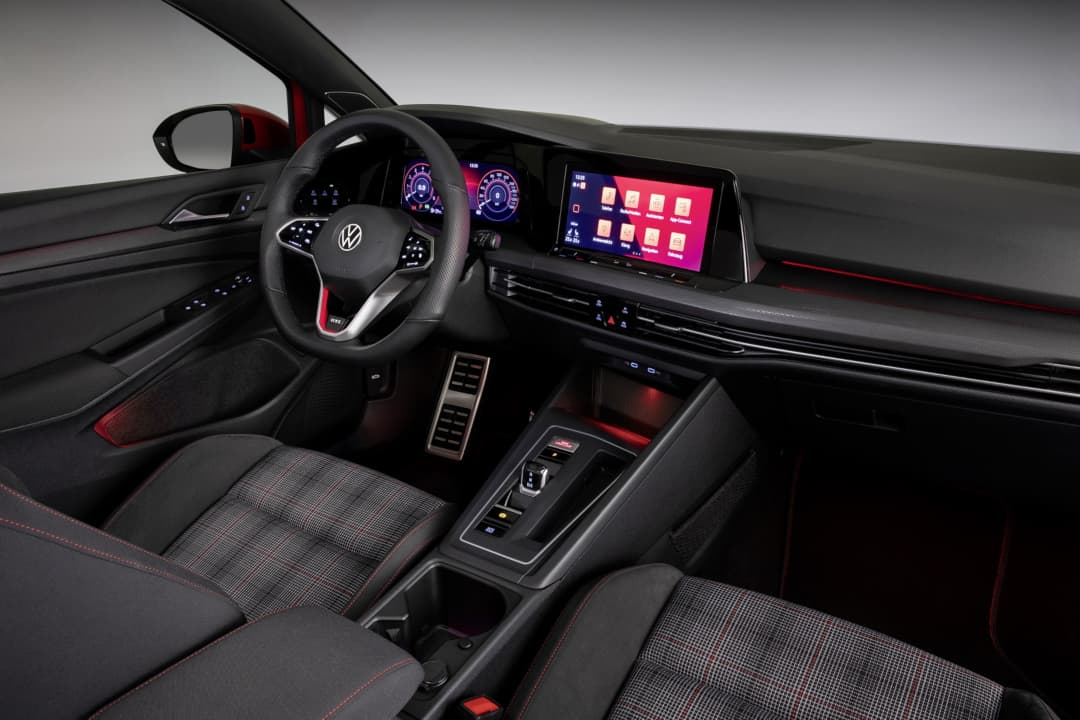 VW Golf Mk8 GTI interior