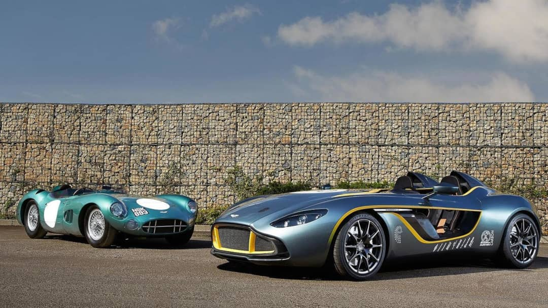 Aston Martin DBR1 and CC100 Concept