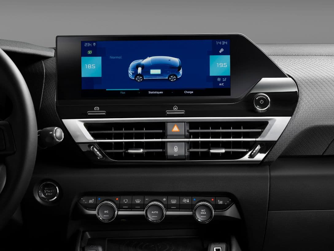 Citroen C4 display