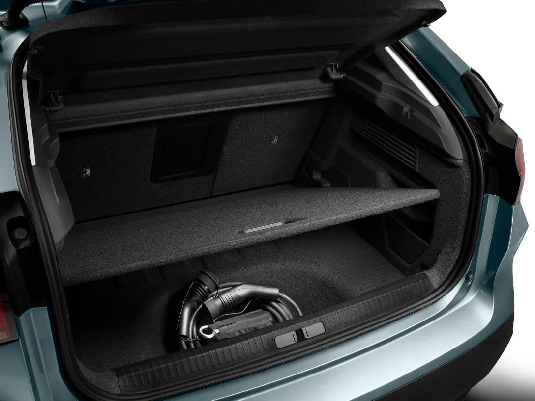 Citroen C4 luggage