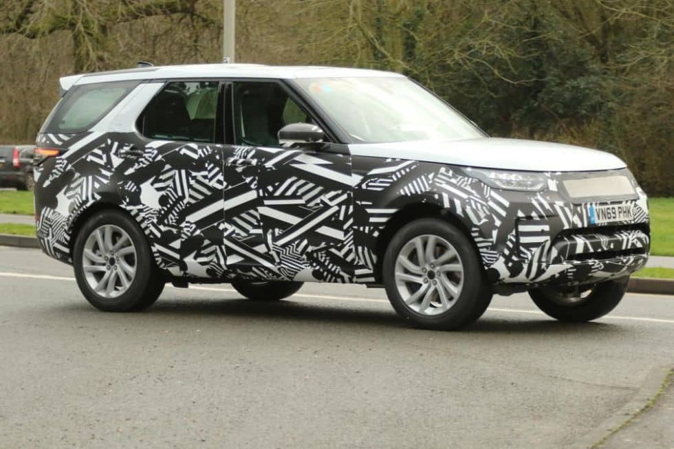 Land Rover Discovery L462 Facelift model spyshot